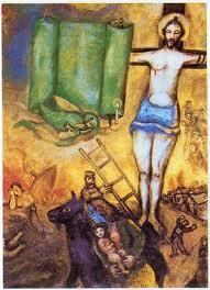 eenheid tussen christenen – Roel Wimmenhove Chagall Witte Kruisiging