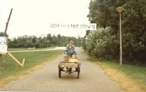Harm in de bakfiets - 1985 - Bijlmerpark